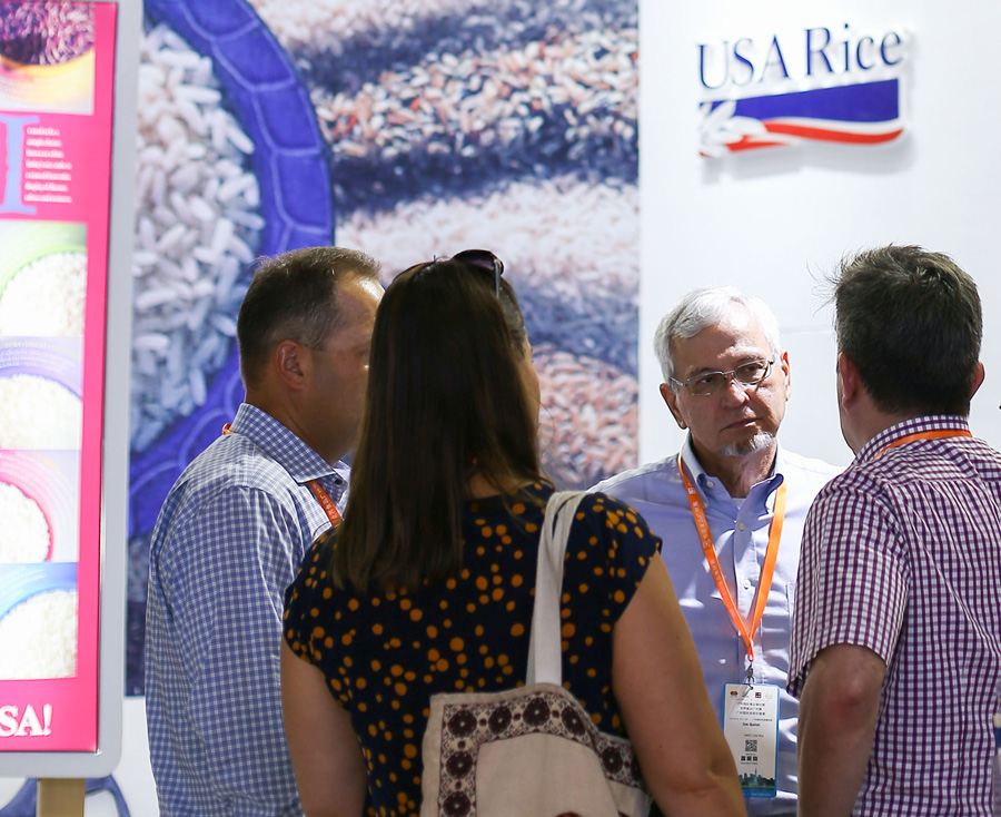 Jim Guinn, director of Asia promotion, USA Rice