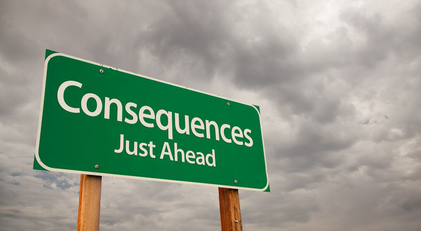 Consequences Just Ahead