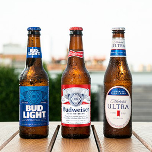 Bud Light, Budweiser, Michelob Ultra