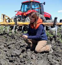 Kim Gallagher, California Rice Farmer