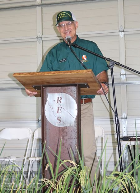 Dr. Kent McKenzie, Consulting Director of California Rice Research Foundation Rice Experiment Station