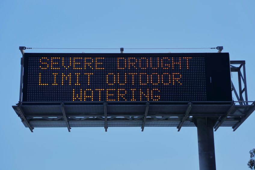 Severe drought limit outdoor watering
