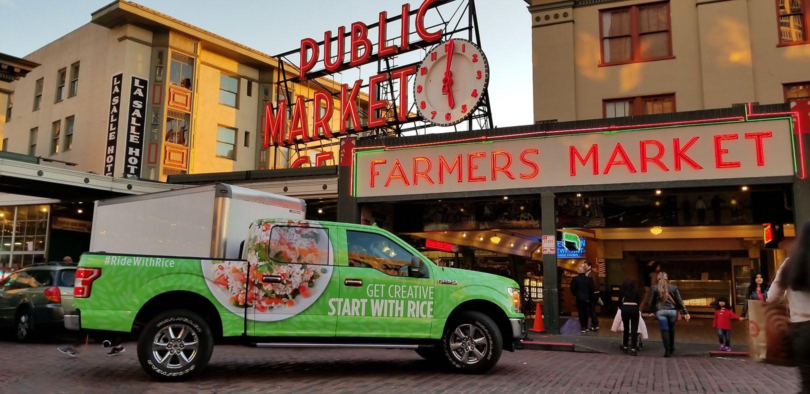 Truck in Seattle